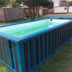 Swimming Pool Container